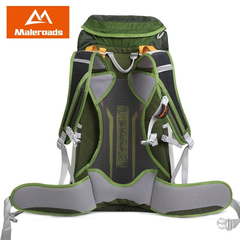 Top qualité Maleroads 50L Camping randonnée sac à dos hommes femmes voyage sac à dos Sport de plein air sac à dos escalade Trekking sac à dos - 3