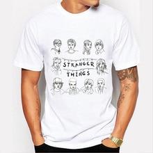 Stranger Things Character Design T-Shirt