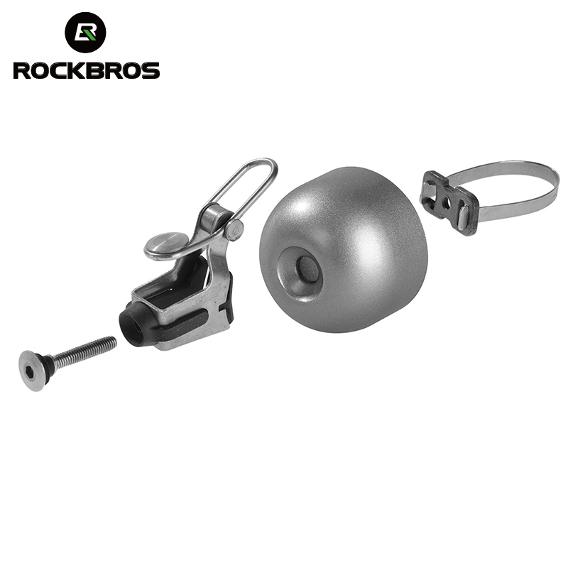 Rockbros Bike Bicycle cycling Handlebar Bell Safety Metal Ring Loud Sound Handlebar Bells Ultra-loud MTB Road Bikes Horns