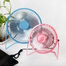 Fan-Plug Desktop-Fan Mini Leaf Wrought-Iron Charging-Treasure Usb Aluminum 6inch