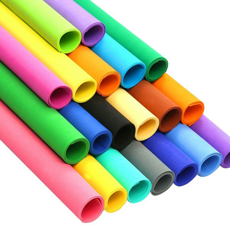 50X50 Eva Foam Sheet Color sponge paper Scrapbooking Crafts Kindergarten Christmas Handicraft Diy Materials Colorful