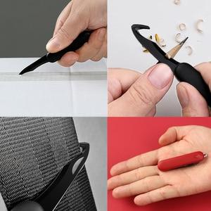 Image 4 - Xiaomi Huohou מיני לפרוק סכין פי פירות סכין לחתוך כלי מחנה כלי פתוח חבילה חיצוני לשרוד קליפ מחנה sharp קאטר d5 #