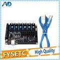 FYSETC F6 плата все-в-одном электроника для 3D-принтеров с ЧПУ устройств до 6 моторов с простыми микрошагами VS SKR V1.3