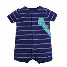 d8126ba5c Bebé niño ropa de verano 6-24 m, ropa de bebé niña lindo patrón de dibujos  animados de los dinosaurios recién nacido de manga co.