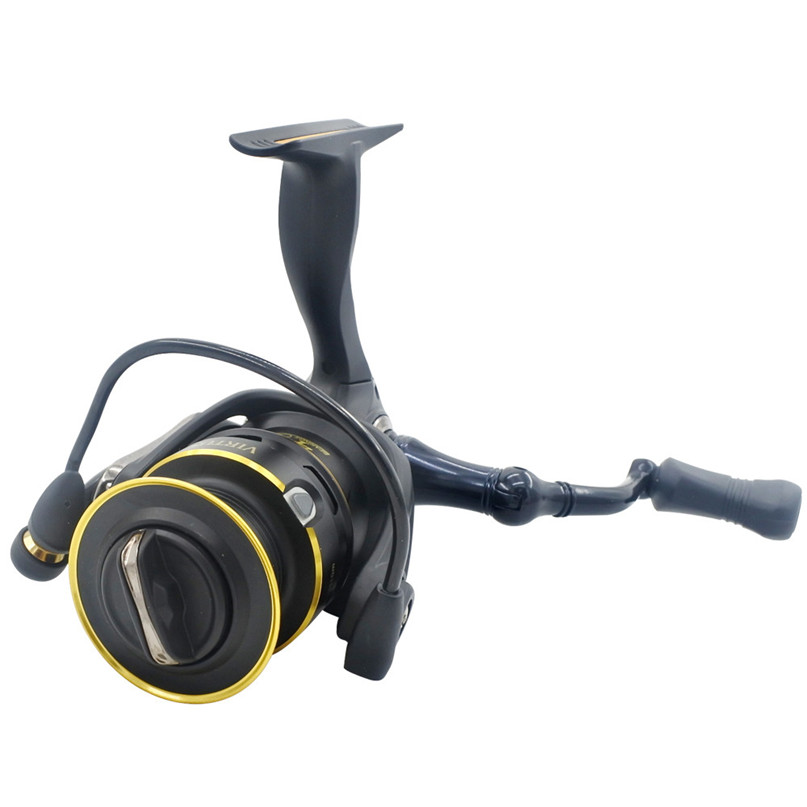 Saltwater Big Game 25.5KG/2.5LBS Drag Power Carbon Fiber Darg Magnetic Brake 5BB 5.0:1 BaitCasting Fishing Reel #2M09