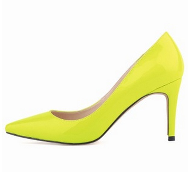 Compare Prices on Neon Yellow Pumps- Online Shopping/Buy Low Price ...