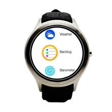 NO. 1 D5 Pulsmesser Runde Android 4.4 Smart Uhr telefon Bluetooth Uhr Sim-karte Uhr Player Brower WIFI GPS Smartwatch