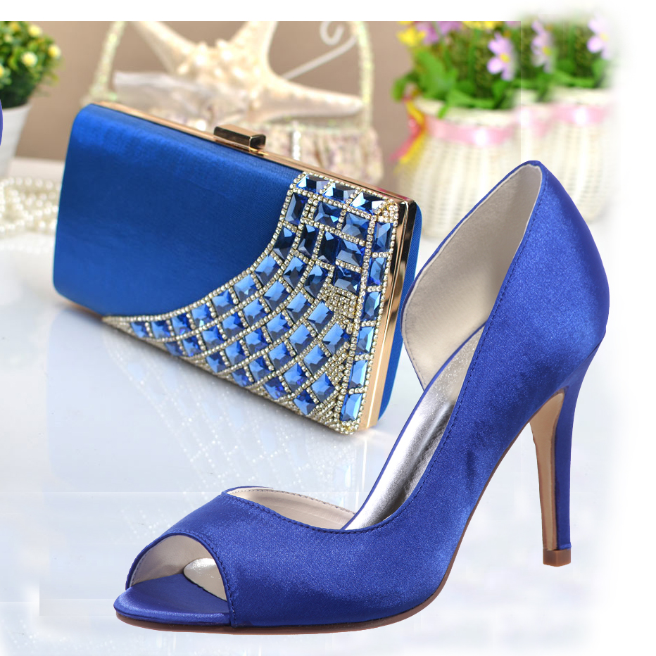 Popular Blue Satin Shoes-Buy Cheap Blue Satin Shoes lots from ...