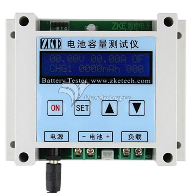 EBC-B10 DC3.2V-16V 4A LiPo LiFe Pb Batteries Capacity Tester Discharging Charging Measurement