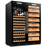 FUKE cigar cabinet led light humidor Wine cabinet display large Wooden Cigar Cooler cigar wine cabinet FK 168WD2