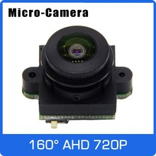 Micro Camera AHD 720P Module Board Analog 700TVL with Big Angle 160 degree Horizontal Lens For TV PAL or NTSC Free Shipping