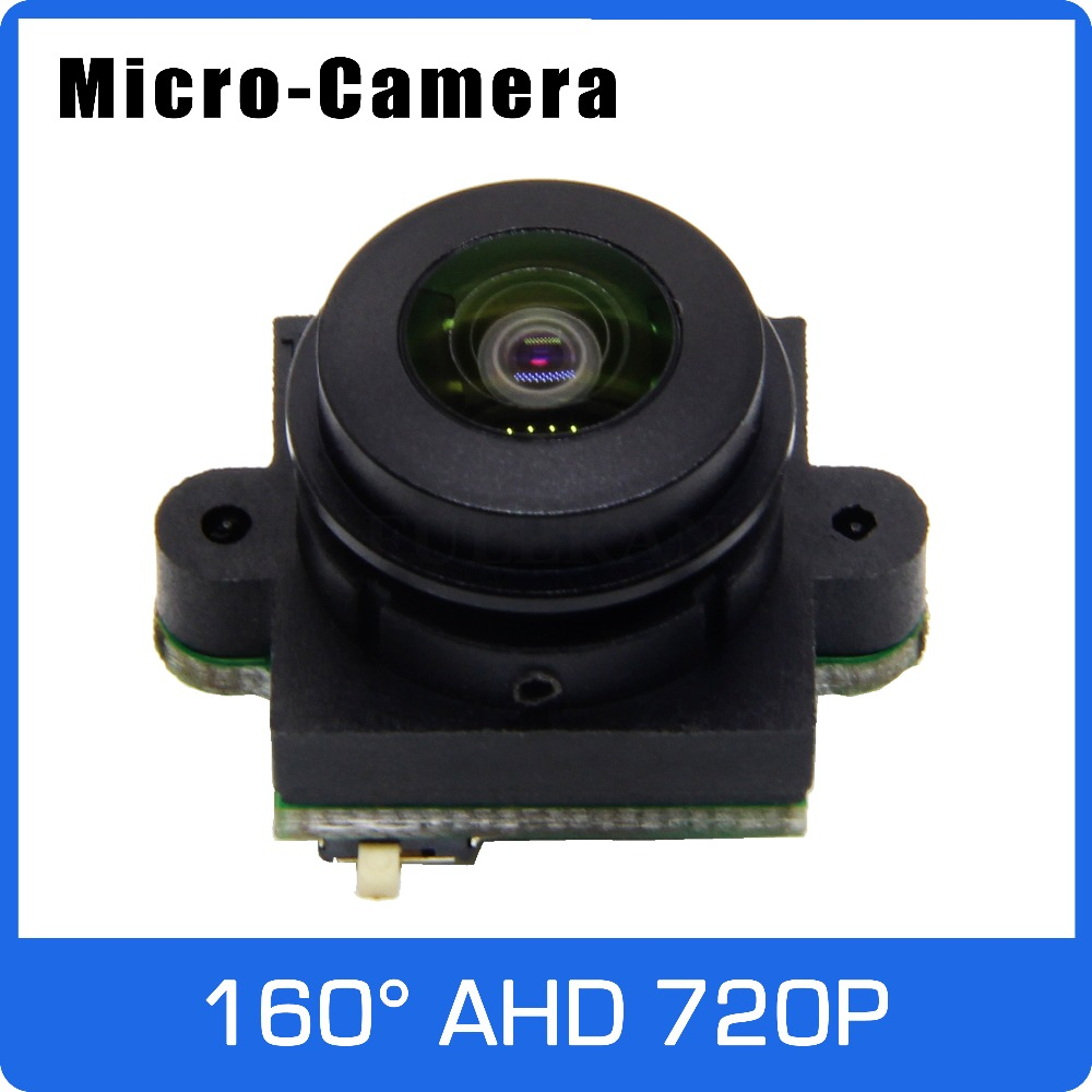 Micro Camera AHD 720P Module Board Analog 700TVL with Big Angle 160 degree Horizontal Lens For TV PAL or NTSC Free Shipping