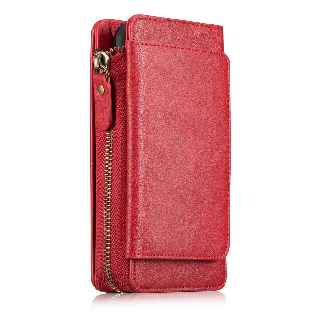 Для Samsung Galaxy note5 люкс Ретро Пояса из натуральной кожи бумажник чехол Note8 крышка бумажник молния отделения для карточек отсоединены