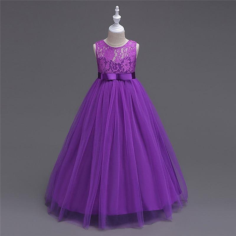 Stil european Stil de vară Lace Flower Girl rochie Hollow Jacquard - Haine copii