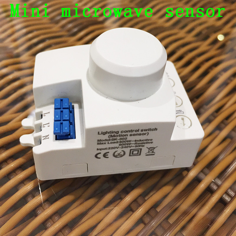 датчик движения 220 В купить в Китае