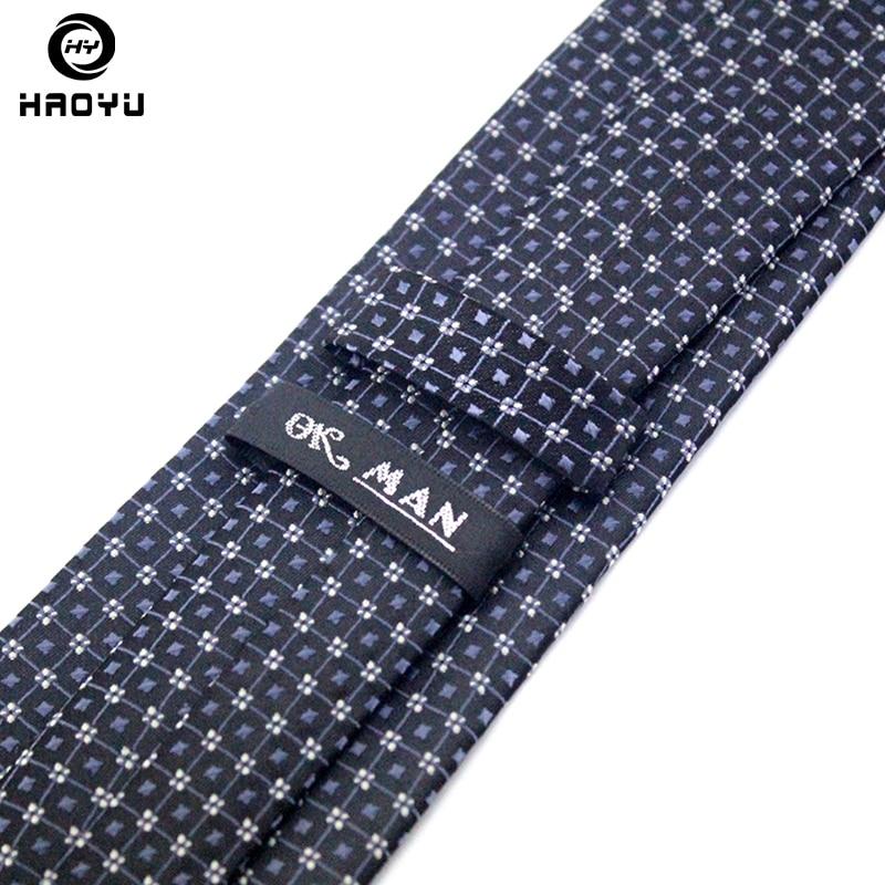 Kravate za moške s črtastimi gladkimi žakardskimi tkaninami - Oblačilni dodatki - Fotografija 6