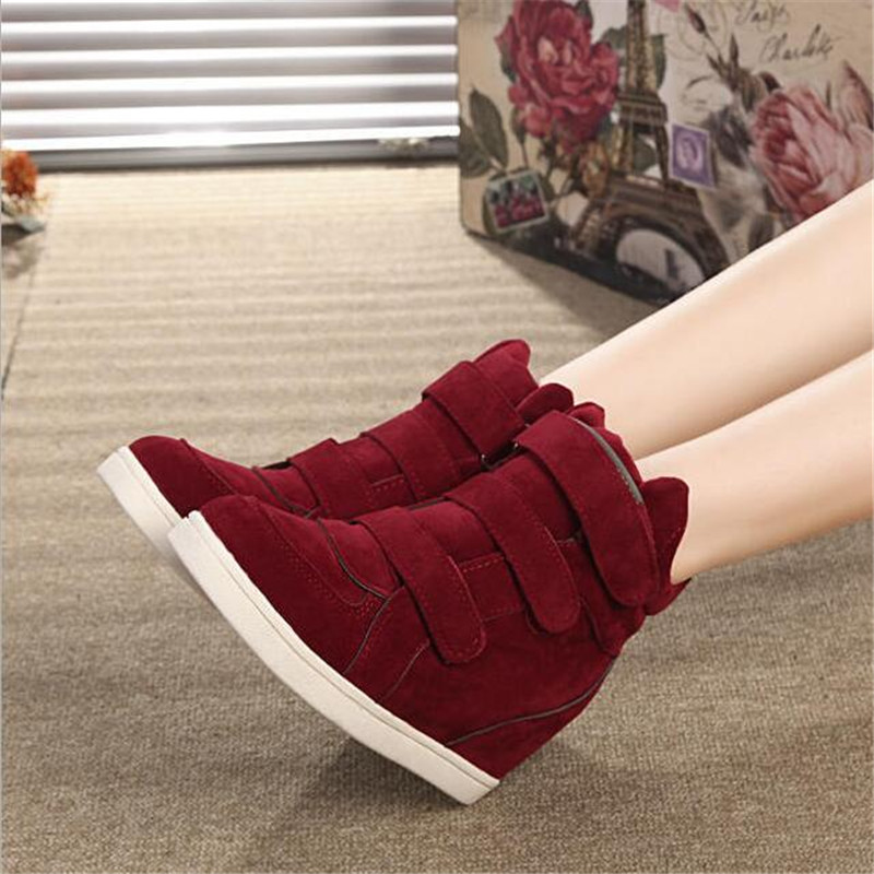 2909b3e75af4 ... Spring Wedges Sneakers Women Fashion High-top Platform Shoes High heels  Casual Shoes For Women. -39%. Click to enlarge