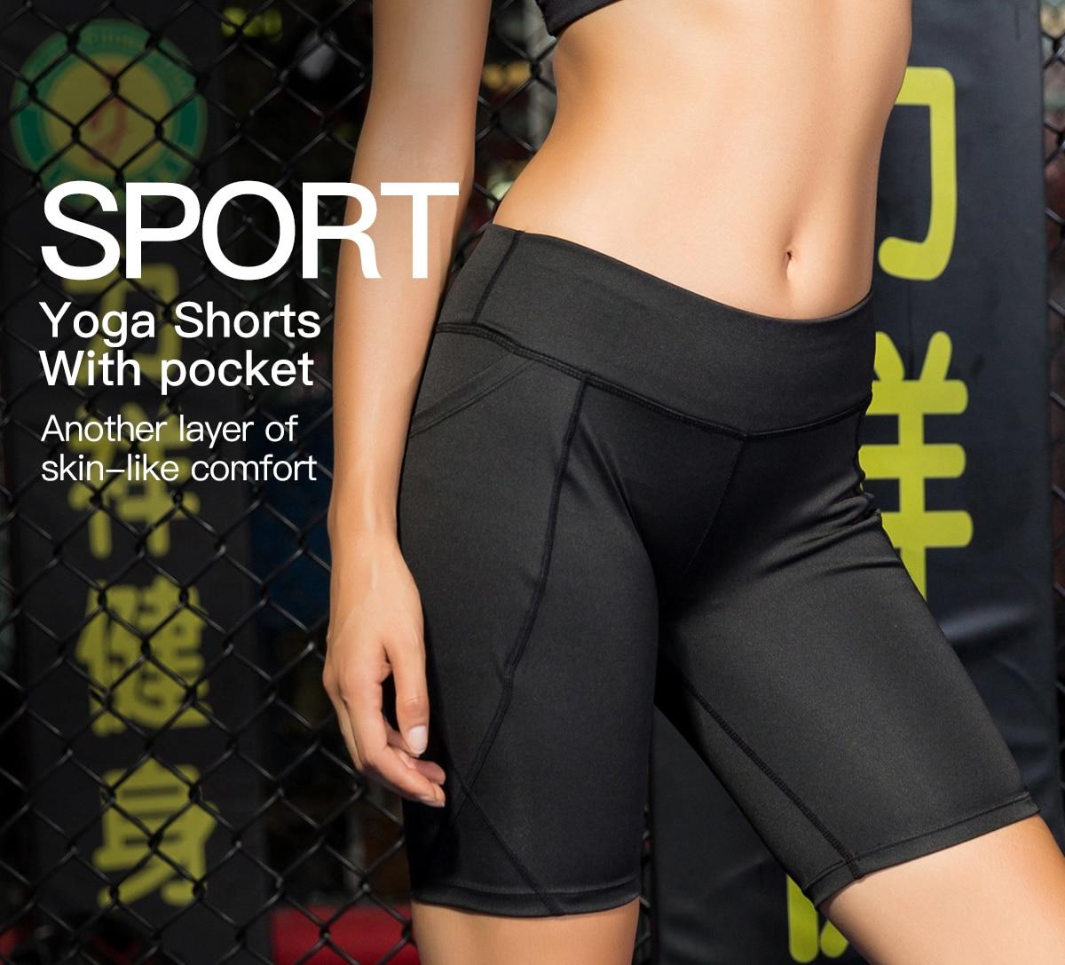 Shorts de corrida de secagem rápida das