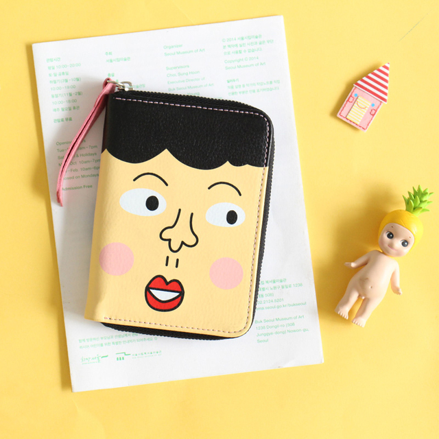 U-pick Creative lovely leather coin purse