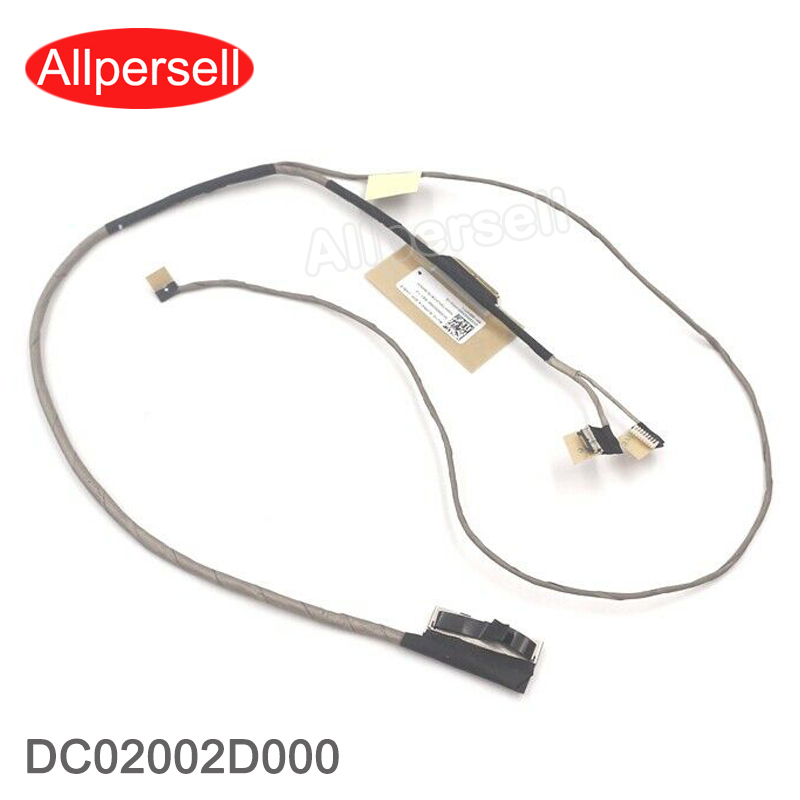 New laptop Screen LCD Video Cable for Lenovo YOGA 510-14IKB FLEX4-1470 EDP CABLE DC02002D000 image
