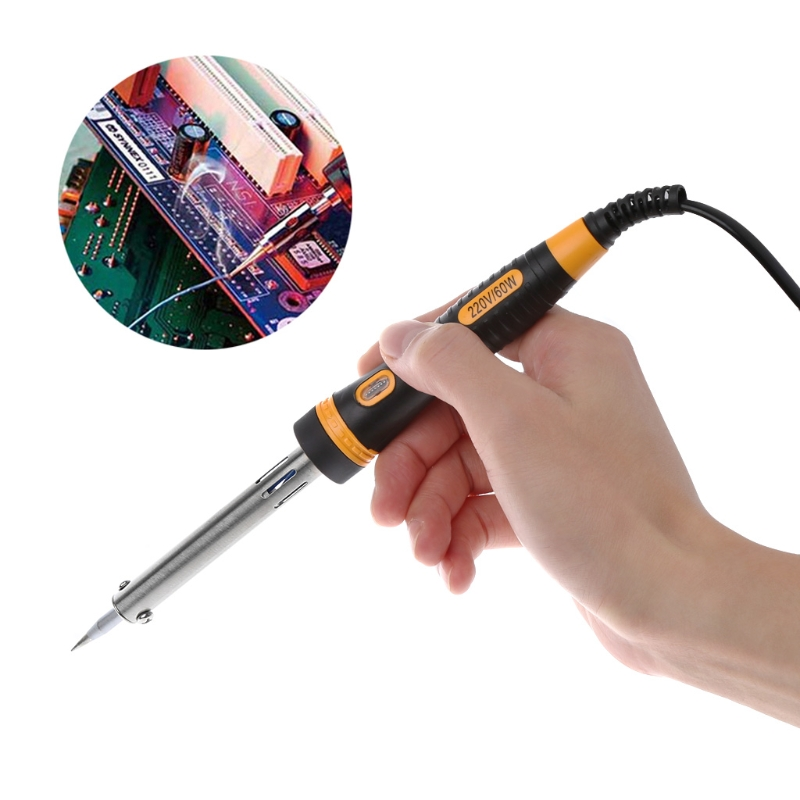 2019 New Arrival 60w 220V Electric Soldering Iron High Quality Heating Tool Hot Iron Welding Dropship
