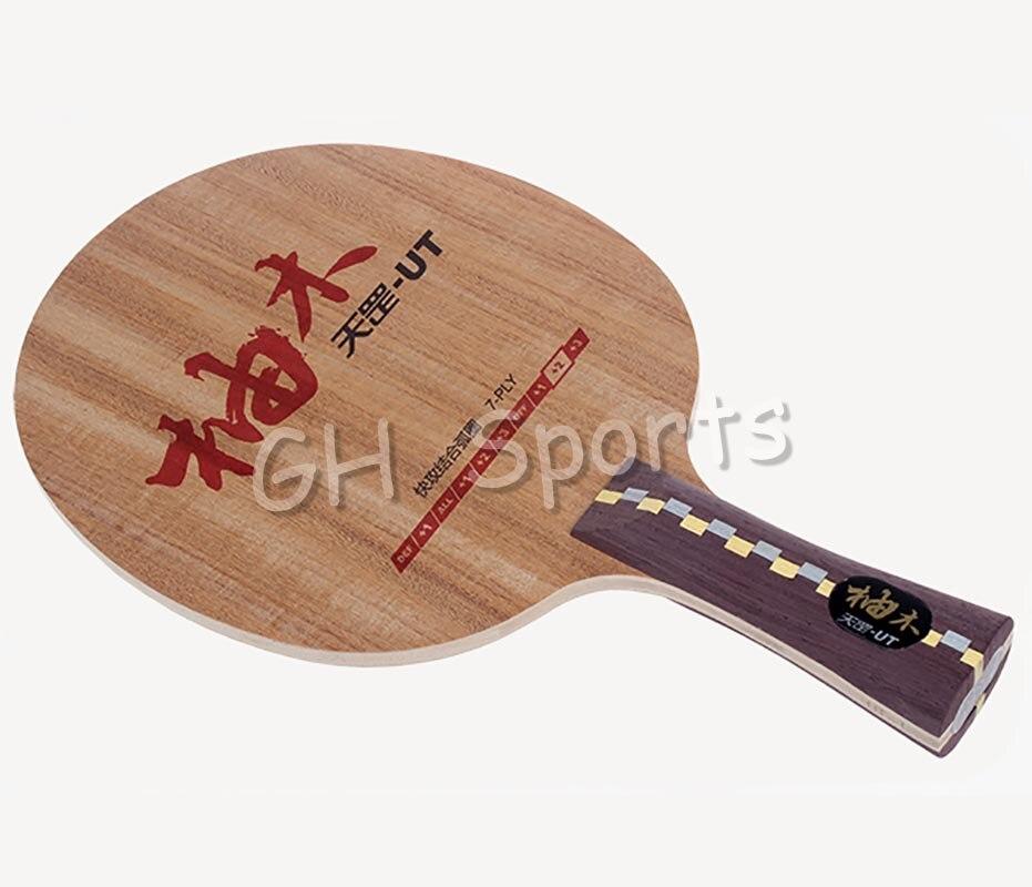 Original DHS Dipper DI-UT (DI UT) table tennis blade teak wood DHS blade for table tennis racket indoor sports racquet sports цена 2017