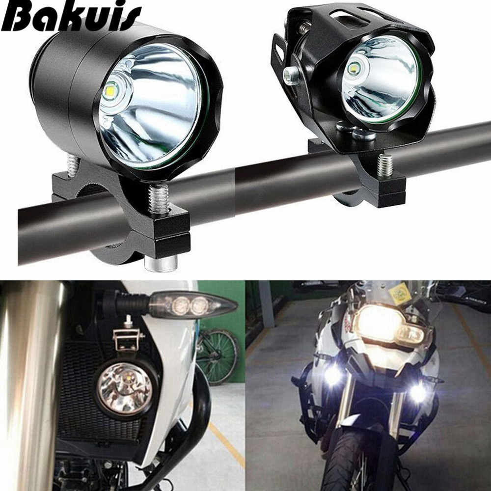 Electric Bicycle LED Headlight XML T6 Led 10W 24V 36V 48V 72V Waterproof E Bike