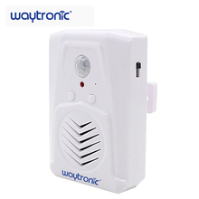 Dry Battery Powered Motion Sensor Activated Audio Player Distinctive Sound Effects MP3 Infrared Doorbell with 128M SD Card