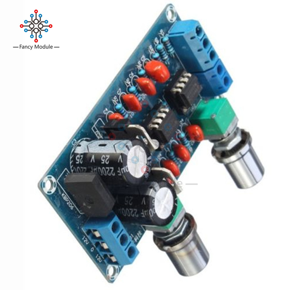 Ne5532 Low Pass Filter Board Level Before The Finished Plate Lowpass Subwoofer Frequency Circuit Opamp Chip Overweight Sound Palette 9v 15v In Instrument Parts