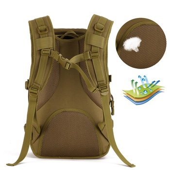 Hot Molle Tactical Backpack Military Backpack Nylon Waterproof Army Rucksack Outdoor Sports Camping Hiking Fishing Hunting Bag 3