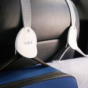 Image 2 - 1pc youpin mijia車後部座席フックインテリア自動車製品ため車ハンガーバッグオーガナイザーフックシート車のアクセサリー