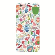Studio Ghibli – Ponyo Phone Case For iphone 5G 5S SE 5C 6 6S 7 8 Plus 6sPlus 4G 4S
