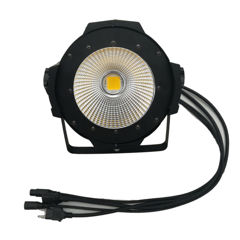 LED COB surface light lamp white + warm white Film television Auto show lighting Beam Projector stage light 4 55w color soft lights lamp stage lighting film and television studio
