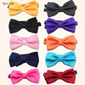 Fashion Adjustable Bowtie Polka Dot Wedding Party Butterfly Cravat Candy Colour Noble Tie - Factory Outlet