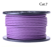 High End Cat 7 Networking Cable With Ethernet 50M 165ft Purple Free Shipping Fast Delivery