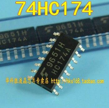 10 piezas/74HC174 TC74HC174A SOP-14 SOP14