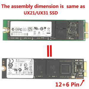 Image 5 - ZenBook M.2 (NGFF) SSD 용 SSD 변환기 18 핀 SSD 어댑터 지원 Asus UX31 UX21 Zenbook 용 2230/2242/2260/2280mm M.2 SSD