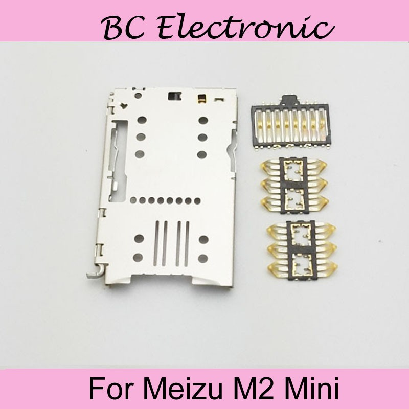 For Meizu M2 Mini Sim Card Tray High Quality Used for Meizu M2 mini Meilan 2 Sim Card Slot With Tracking Number