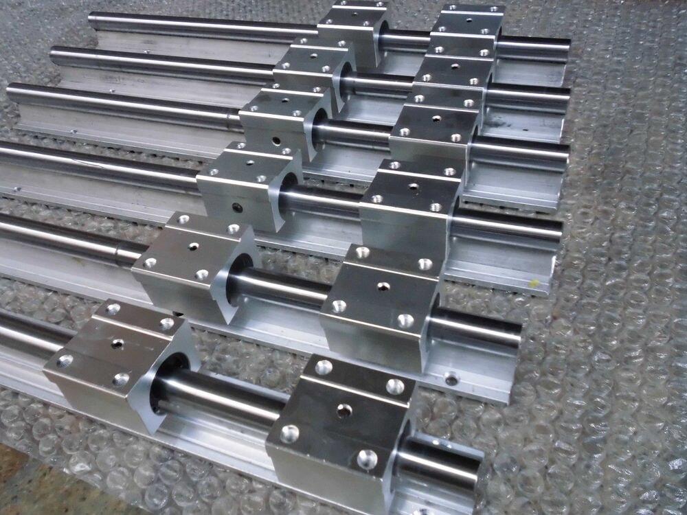 12pcs SBR12 -L1000mm linear guide +10pcs SBR12-L700mm linear guide+72pcs SBR12UU linear slide block 2pcs sbr12 1940mm linear guide 1pc sbr12 1650mm linear guide 8pcs sbr12uu block for cnc parts