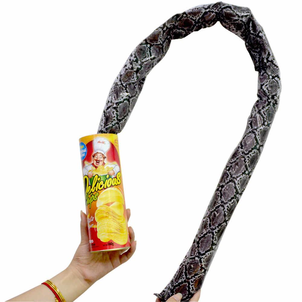 1 Pza divertido Chip de patata puede saltar primavera serpiente juguete regalo Día de los muertos día de brujas fiesta de decoración broma y truco divertido broma Juguetes