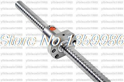 Anti Backlash Rolled Ball screws shaft 2005 -L1000mm 1pcs single flange ballnut niko 50pcs chrome single coil pickup screws