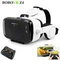Gafas de realidad virtual bobovr z4 con gampad envolvente de 360 juegos de vídeo de visión mejorada 4.2-6.0 pulgadas smartphones vr gafas