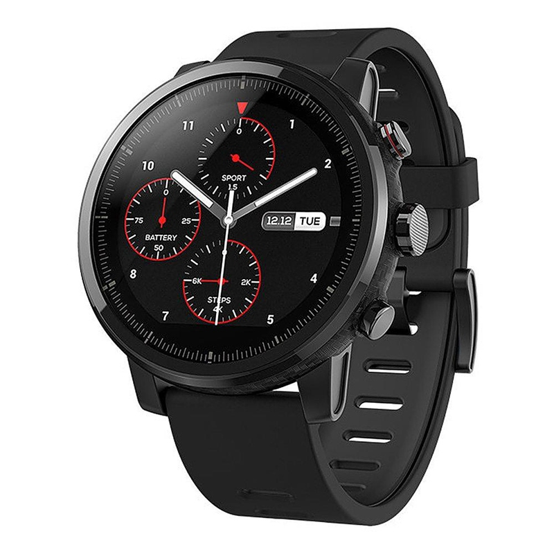 Арыгінал Xiaomi Huamei AMAZFIT Stratos 2 Soorts Смарт Гадзіннік 50M воданепранікальны GPS Bluetooth SmartWatch International Version