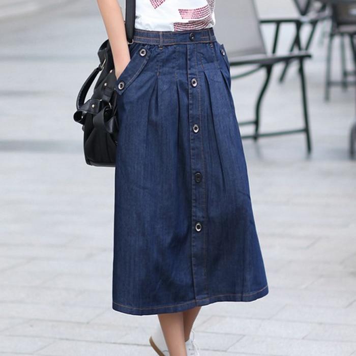 Popular Long Jean Skirt-Buy Cheap Long Jean Skirt lots from China ...