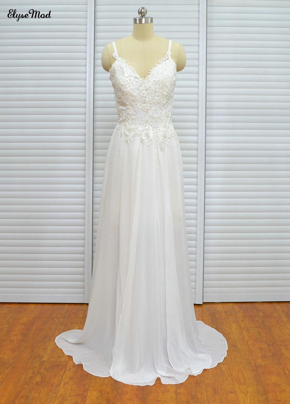 असली फोटो नोवास ए-लाइन - शादी के कपड़े