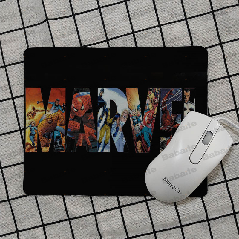Babaite Top Quality Marvel Comics logo Keyboard Gaming MousePads Top Selling Wholesale Gaming Pad mouse in Mouse Pads from Computer Office