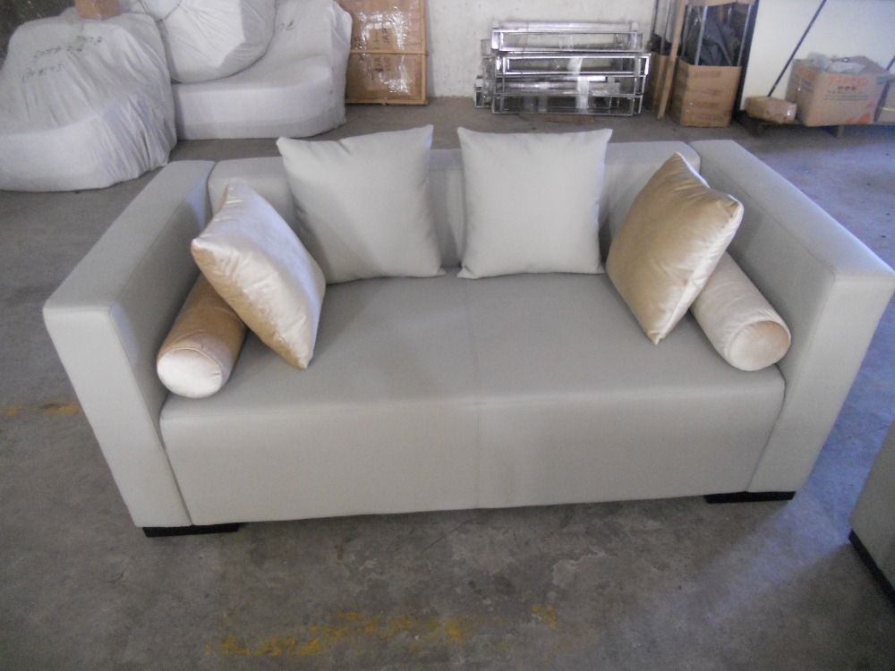 Cow Genuine Leather Sofa Set Living Room Furniture Couch Sofas Living Room  Sofa Sectional 2 Seater Love Seat Grey Color