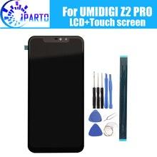 6.2 インチ umidigi Z2 pro の lcd ディスプレイ + タッチスクリーン、 100% オリジナルのテスト液晶スクリーンデジタイザガラスパネルの交換 umidigi z2 プロ
