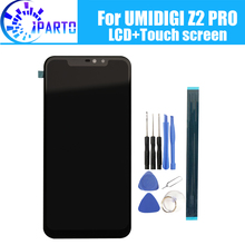 6,2 zoll UMIDIGI Z2 PRO LCD Display + Touch Screen 100% Original Getestet LCD Digitizer Glas Panel Ersatz Für UMIDIGI z2 PRO