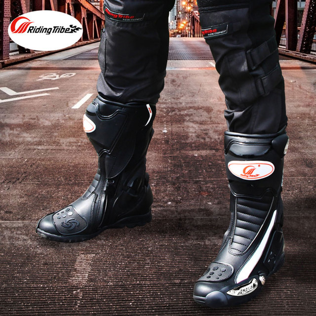Riding Tribe Speed Motorcycle Boots Outdoor Sports Racing Shoes Boots Motocross Off-Road Motorbike Boots 5